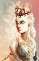 Mother of Dragons Daenerys Targaryen by JohnnyClark