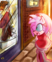 shopping by KTy-cat