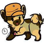 Flavorful Adopts #4 - Almond Dog - Adopted by Feralx1