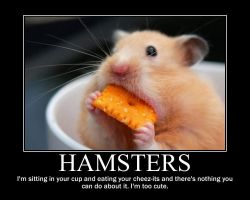 Hamsters Demotivator by Microblonde
