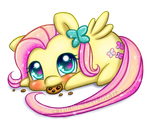 FREE Fluttershy Chubby (Page Doll) by Sarilain