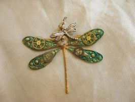 Mechanical Dragonfly by Devine-Inspirations