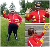 Eggman Cosplay by CandySkitty