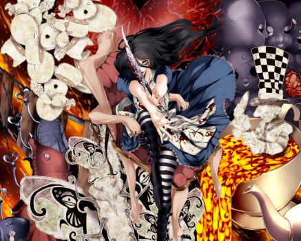 Alice Madness Returns by kanenari