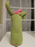 Simple Space Bunny Plush -back- by italktotherain