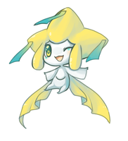 Jirachi by CookieHana