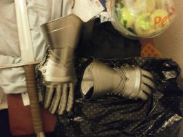 fencing armor gauntlets. by hieronymushoefer