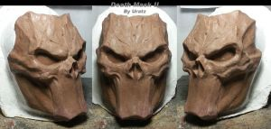 Death Mask ReSculpt by Uratz-Studios