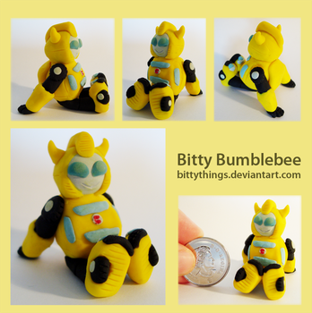 Bitty Bumblebee - GIFT by Bittythings