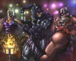 Batman: Arkham City by huzzain