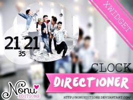 Skin ~Clock Directioner~ Xwidget by Nonuu