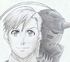 Alphonse Elric by Anime019se