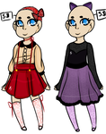 Lacey Dress Adoptables ((OPEN)) by pastelfoxes