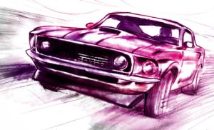 Mustang by dfbovey