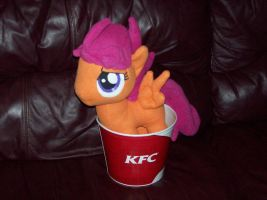 Scootaloo is a chicken by Echan33