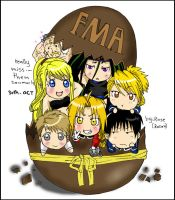 fma Chocolate egg by rose123321123