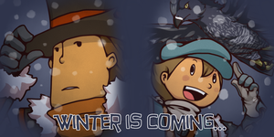Winter is Coming: Hershel and Luke by Alavar-Randomity