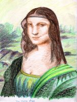 La Bella Mona Lisa by SparrowsHellcat