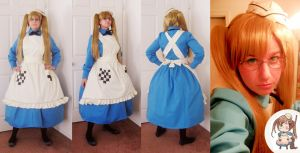 Nyotalia-England Cosplay by Spwinkles