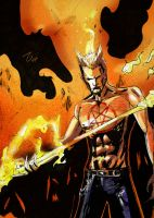 comic-daimon-hellstrom by Elliste