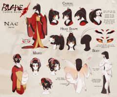 Nae Model Sheet 2014 by White-Mantis