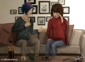 LiS: All Wounds -- Bullets n' Booze by Maiqueti