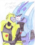 Silent Love BlurrxBee scene by Hellblaze
