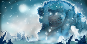 Snow Colossus by Jevahkiin