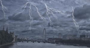 Thunderstorm in London by ChrisUnger