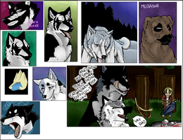 Iscribble canines 4 by DrJo-jo