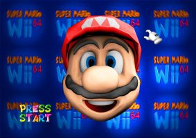 Super Mario Wii - Press Start by guru9898