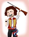 Bradley Jaden as Enjolras by TheRandomPhangirl