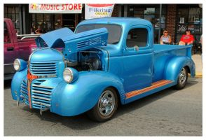 Cool Blue Dodge Truck by TheMan268
