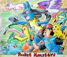 Lucario and the Mystery of Mew by himanshu-kapoor