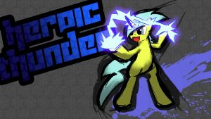 Heroic Thunder [Splash Art] by rorycon