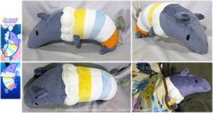 Paku Plush (Pop'n Music) by Diffeomorphism