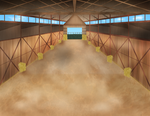 Cow of The Wild BG: Inside Barn :daytime: by Creativepup702