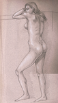 Life Drawing 12- Liz by jackalandromeda