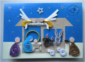 Quilling - card 112 by Eti-chan