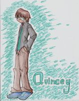 Quincey in color by XcoconutxpineappleX