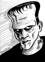 Frankenstein's Monster by brodiehbrockie