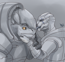 Krogan Turian by DragonAsis