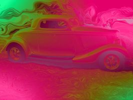 Hot rod lincoln pink by Tangobear-resources
