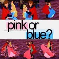 sleeping beauty pink or blue by Midnightrosesblood