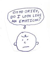 Charlie Brown - Do I look like an emoticon? by dth1971