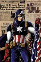 Captain America by jlonnett