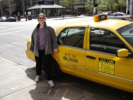 fake new york taxi by PrincessCarol
