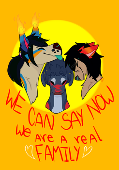 We can say now FAMILY with speedpaint now by DangerousHibrids