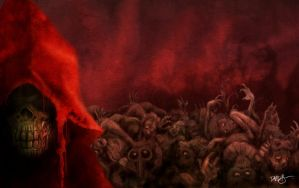 The Masque of the Red Death by Disezno