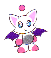 Character Chao: Rouge by Shadowgirlfan